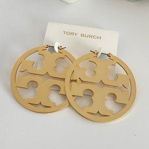NWOT Tory Burch Miller Hoops